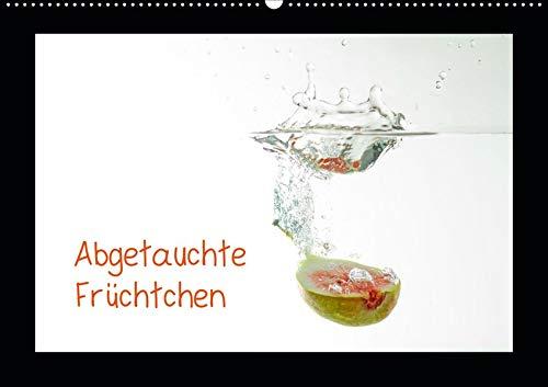 Abgetauchte Früchtchen (Wandkalender 2020 DIN A2 quer): Gesundes, vitaminreiches Obst tauch im Wasser ab. (Monatskalender, 14 Seiten ) (CALVENDO Lifestyle) (Kiwi-erdbeer-vitamin Wasser)