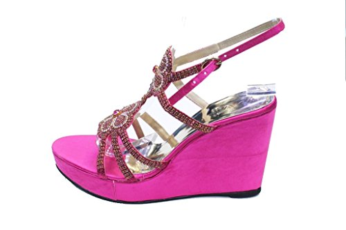 Wear & Walk UK , Damen Sandalen F Pink