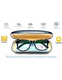 SILVERCARE UV Protected Unisex Sunglasses - (prdct005, Black)