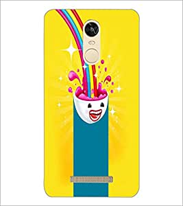 PrintDhaba Cartoon D-4046 Back Case Cover for XIAOMI REDMI NOTE 3 (MEDIA TEK) (Multi-Coloured)