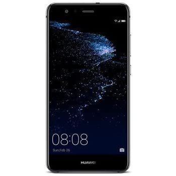 Huawei P10 Lite Smartphone, Marchio Tim, 32 GB, Nero