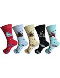 RC. ROYAL CLASS DESIGNER COTTON SOCKS FOR KIDS/BOYS & GIRLS (PACK OF 5 PAIRS)