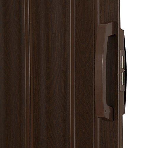 Porta a soffietto da Interno - 84x202cm PVC, con anta unica, in 5 colori -  Porta laterale, Porta Scorrevole Bianca