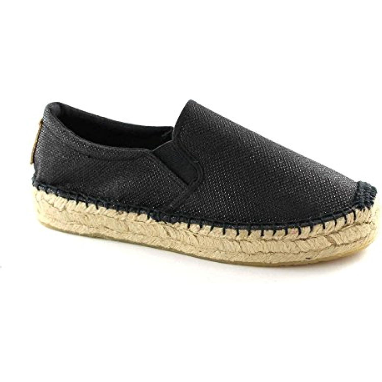 REPLAY RF220016S chaussures noires plateaux Nesia glisser sur Espadrilles plateaux noires - B01D7BY28O - ae71cd
