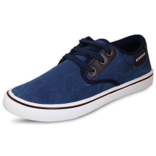 Scatchite Casual Shoes (10 UK, Blue)