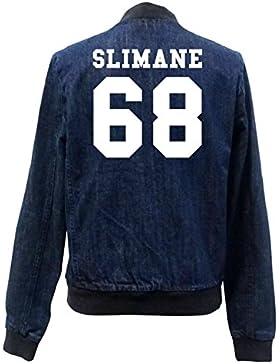 Slimane 68 Bomber Chaqueta Girls Jeans Certified Freak