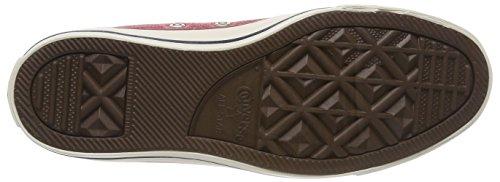 Converse Unisex-erwachsene Ctas Hi Smalto Rosso / Bianco Hohe Sneaker Rot (smalto Rosso / Smalto Rosso / Bianco)