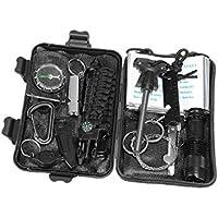 Geambo Auto Außen Erste-Hilfe-Kit Werkzeugkasten Dringend Outdoor EDC Survival Supplies preisvergleich bei billige-tabletten.eu