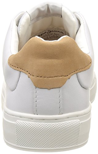 Pepe Jeans Damen Adams Basic Sneakers Weiß (White)