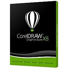 CorelDRAW Graphics Suite X8 Upgrade German - Software De Gestión Multimedia