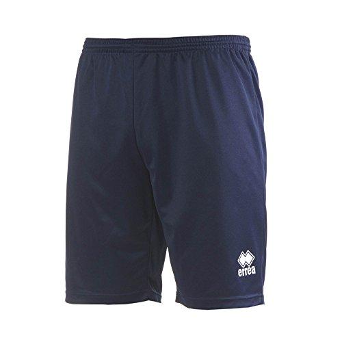 MAXI SKIN AD Trainingshose (knielang) von Erreà · ERWACHSENE Herren Damen Trainingsshorts (kurz) · REGULAR-FIT Bermuda Sporthose (komfortabel) für Teamsport · PERFORMANCE Running Sport Shorts (strapazierfähig) aus Polyester-Material · (Farbe marineblau, Größe M) (Spiel-tag-warm-up-hose)