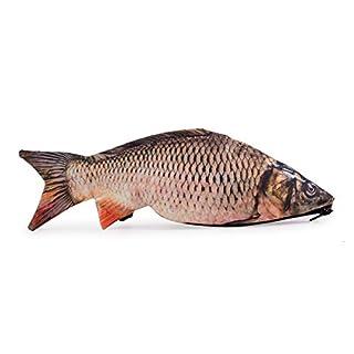 Ferocity Trousse Scolaire Sac a Crayon Trousse de Toilette Trousse en Cuir Plumier Carpa Poisson Organisateur Fisch [008]