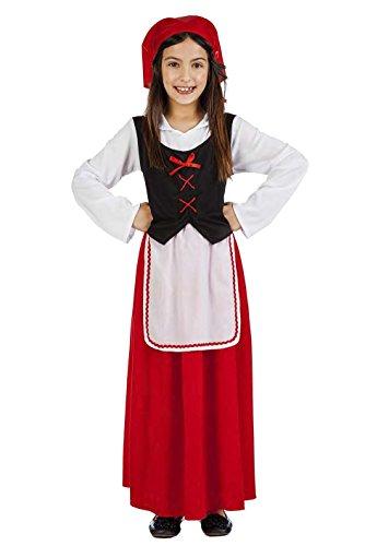 Imagen de disfraz pastora talla 7 9 años tamaño infantil