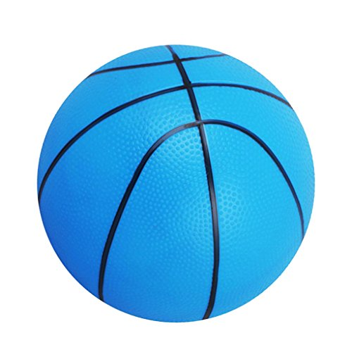 Magideal Mini Bouncy Basketball Indoor/Outdoor Sports Ball Kids Toy Gift-Blue