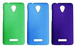 Winsome Deal 3 Pieces of Exclusive Quality Hard Back Cover Case For Micromax Canvas Spark Q380
