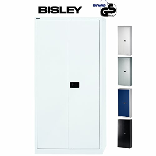 Aktenschrank abschließbar metall von Bisley - weiss