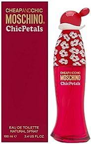 Moschino Chic Petals by Moschino for Women - Eau de Toilette, 100ml