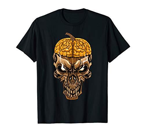 Ninja Totenkopf Kostüm - Kürbis Totenkopf Jack O Laterne Spooky Halloween-Kostüm T-Shirt