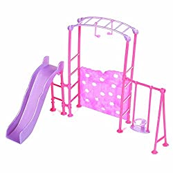 Generic Slide Swing Set Accessories Dollhouse Doll Furniture