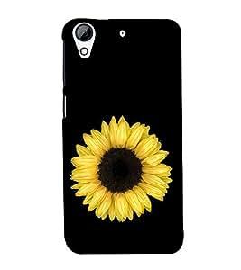 Sunflower 3D Hard Polycarbonate Designer Back Case Cover for HTC Desire 626 :: HTC Desire 626 Dual SIM :: HTC Desire 626S :: HTC Desire 626 USA :: HTC Desire 626G+ :: HTC Desire 626G Plus