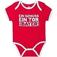 FC Bayern M/ünchen FCB Fanartikel Baby Longsleeve Logo Gr.62//68