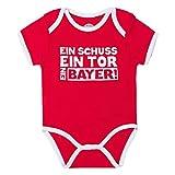 FC Bayern München Baby Body (86/92, Ein Bayer)