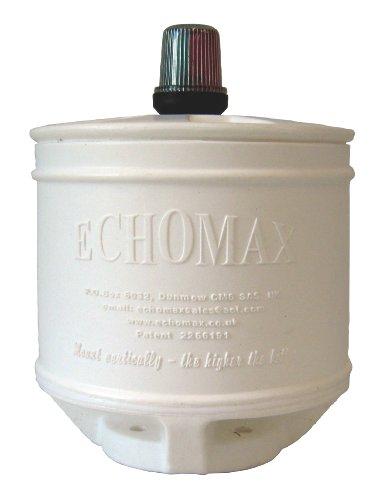 Echomax 22,9cm Halterung Compact Radar Reflektor (mit Hella LED alle rund weiß Navigation Licht) Marine Radar-halterungen