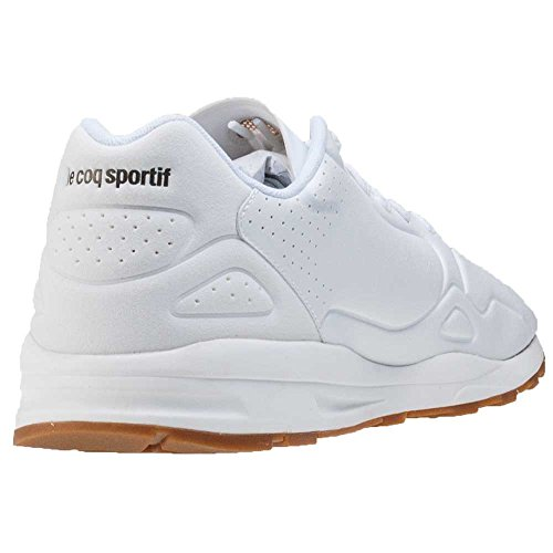 Le Coq Sportif Uomo Optical Bianco LCS R9XX S Lea Sneakers Blanc