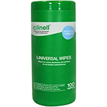 Clinell Toallitas universales– bote ...