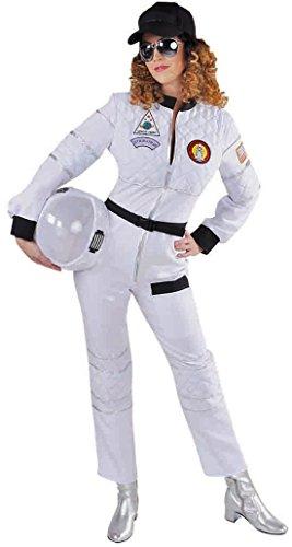 narrenkiste M215145-XL weiß Damen Astronauten Uniform ()