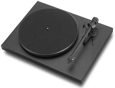 Pro-Ject Debut III - Tocadiscos (Corriente alterna, 100 - 110, 220 - 240V, 50/60 Hz, Negro, 415 x 320 x 118 mm, 415 x 405 x 365 mm)