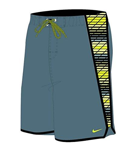 Herren Nike Swim Trunks (Nike Herren Badeshort blau blau, Herren, Blue Graphite)