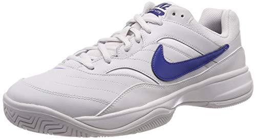 Nike Court Lite, Scarpe da Tennis Uomo, Mehrfarbig (Vast Grey/Indigo Force 054), 42.5 EU