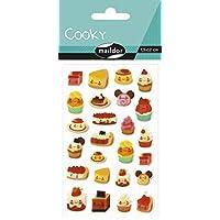 Maildor Cooky Sticker Sheet, Birthday, Cakes