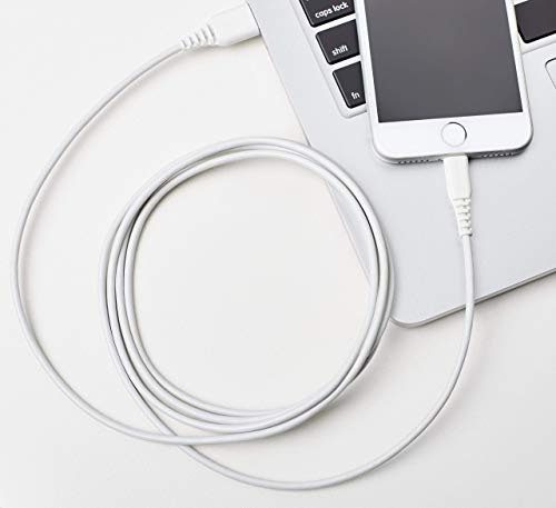 [Get Discount ] AmazonBasics Apple Certified Lightning to USB Charge and Sync Cable, 6 Feet (1.8 Meters) - White 416T o144BL