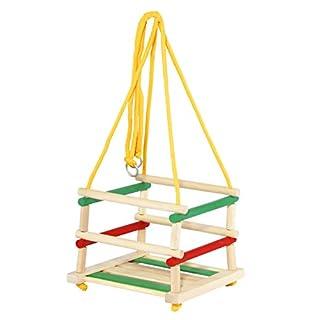 Tupiko HDK Wooden Coloured Swing, Multi-Color