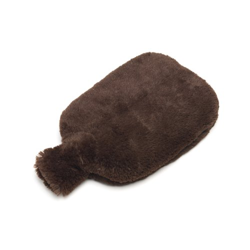 Furry Warmers Fully Microwavable Furry Bottle Brown -
