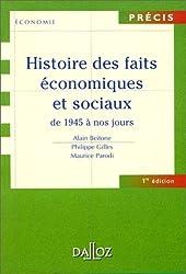 Histoire des faits économiques et sociaux, tome 2 : De 1945 à nos jours