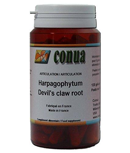Douleurs et confort articulaires racine Harpagophytum procumbens extra fort griffe du diable ou Devil's claw retrouvez mobilité et souplesse articulaire 120 gélules articulations douloureuses harpago