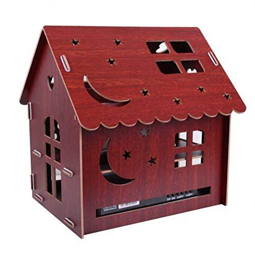 BinLZ Set-Top Box Madera Estante Gato Enrutador Enrutador