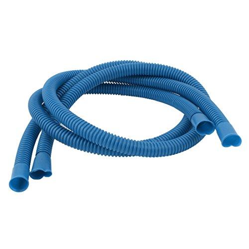 Nylon flessibile condizionatore d' aria tubo di scarico acqua tubo 112cm 2PCS blu - Scarico Acqua Tubo