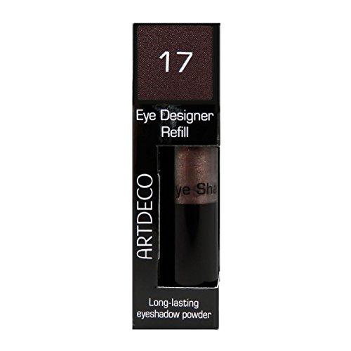 Artdeco Eye Designer Refill, Lidschatten, Nachfüllung, nr. 17, dark wood, 1er Pack (1 x 9 g)