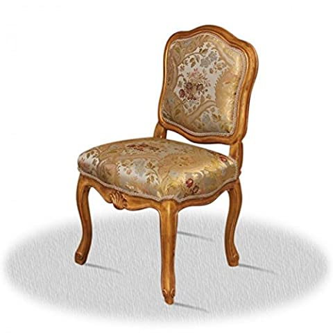 Chaise baroque Louis XV rocaille style antique AlCh0009E