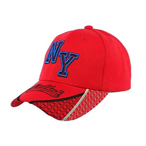 Hip Hop Honour Casquette Baseball NY Rouge et Bleue Stan - Mixte