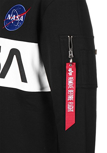 Alpha Industries Nasa Inlay Sweater black