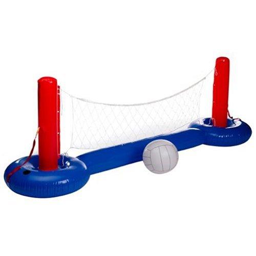 Intex Wasserspiel Volley- und Basketball Set, Mehrfarbig, für Easy Pools von Ø 457 - Ø 549 cm