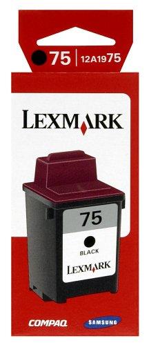 Lexmark 12A1975 Tintenpatrone 75 schwarz, hohe kapazität - Lexmark All In One