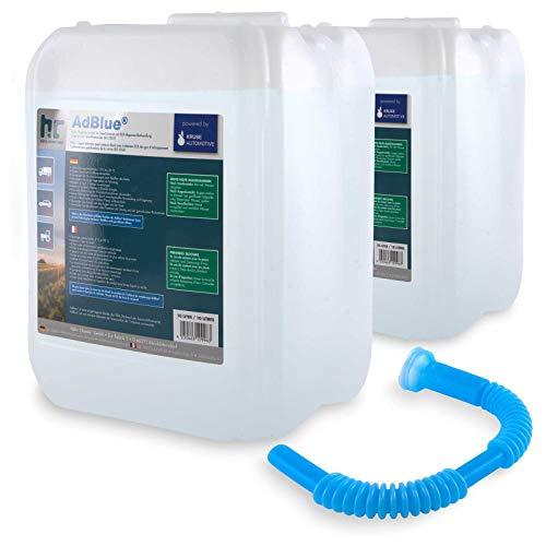 AdBlue® 2 x 10 L - Auto Harnstofflösung von Kruse Automotive verringert Emissionen von Stickstoffoxiden um 90{23326f5a786e4c89d713953de5be085a7fa2649fbf26b0ab6ebffb56ca70ee9c} bei SCR-Systemen - Höfer Chemie