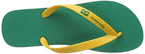 Ipanema Herren Flag Zehentrenner Grün (Green/Yellow)