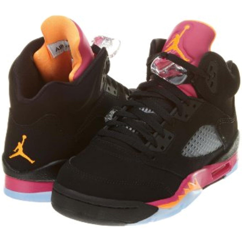 Nike - Chaussures Chaussures Chaussures Air Jordan 5 Retro Girl Junior- -Noir - B00COPOVWM - e56fb5